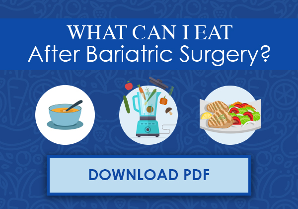 Diet surgery post bariatric Your diet