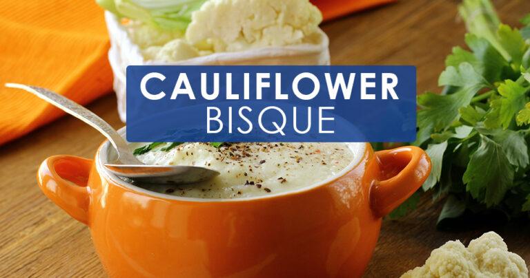 cauliflower bisque