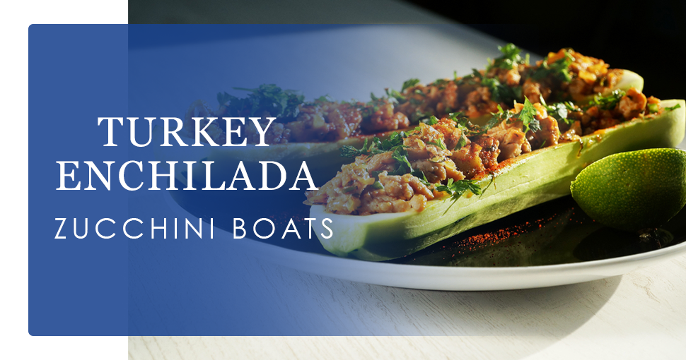 Photo of recipe - Turkey Enchilada Zucchini Boats