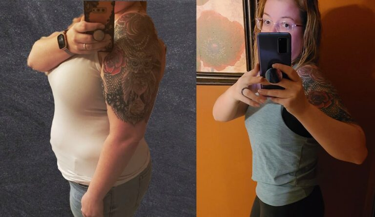 Heather's weight loss transformation