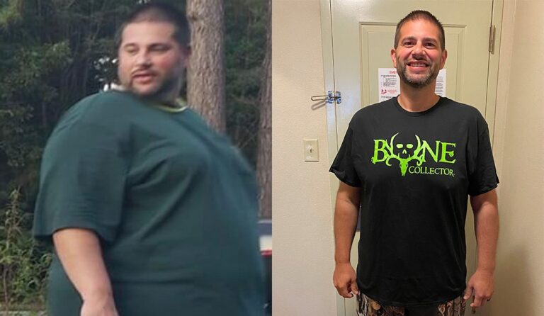 Lewis weight loss transformation